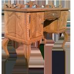 stylový nábytek z masivu - psací stůl